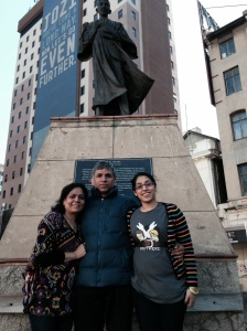 Gandhi Statue at Gandhi Square in Johannesburg