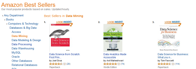 My Data Analytics book becomes Best Seller