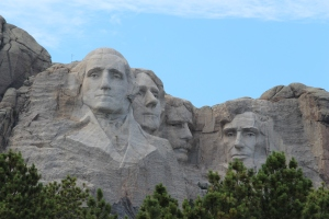 4 heads at Mt Rushmore