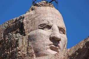 Crazy Horse Memorial - Mammoth Face