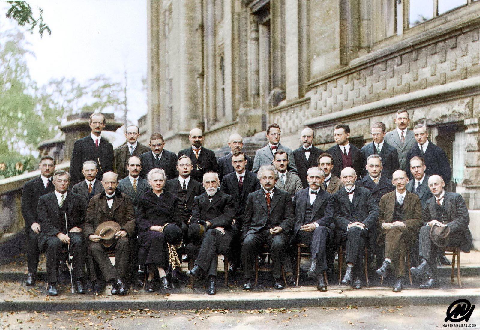 QuantumMechanicsConference1927